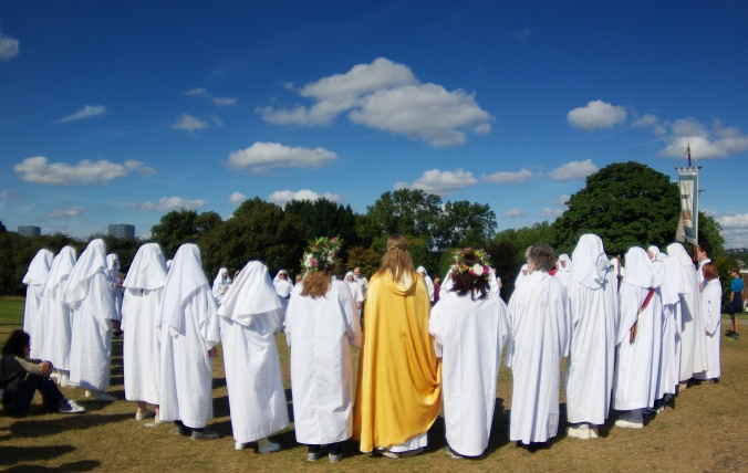 Ceremony on Primrose Hill