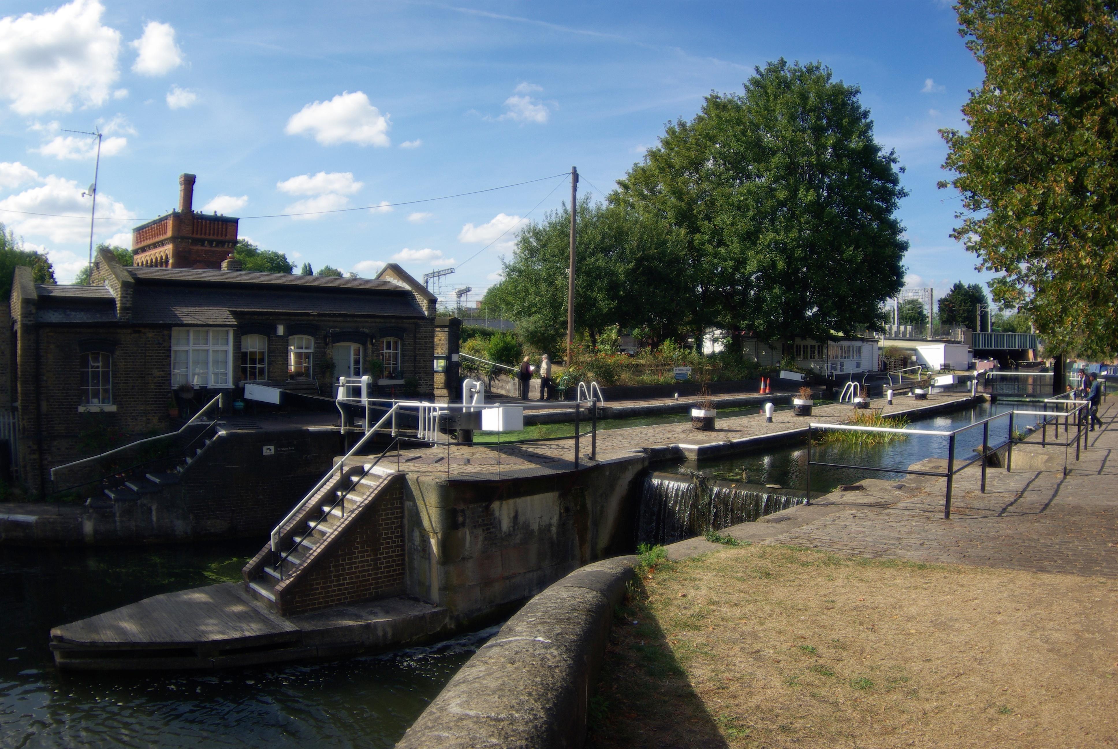 St Pancras Lock