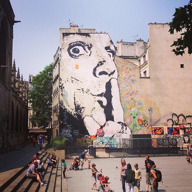 Sssh at the Pompidou