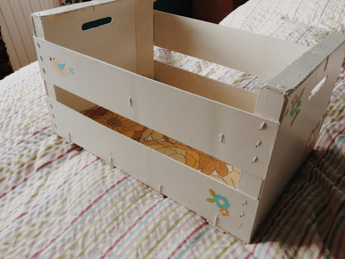 Upcycled Fruit Crate