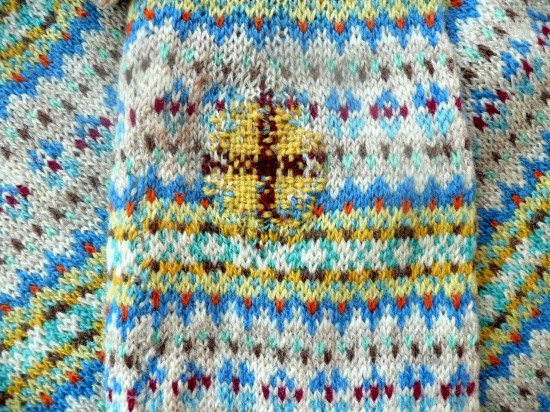 Prick Your Finger's Darned Shetland Jumper