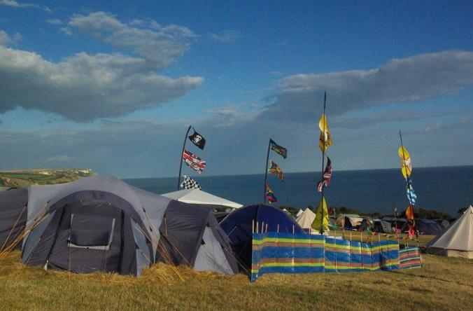 Eweleze Farm Campsite, Dorset