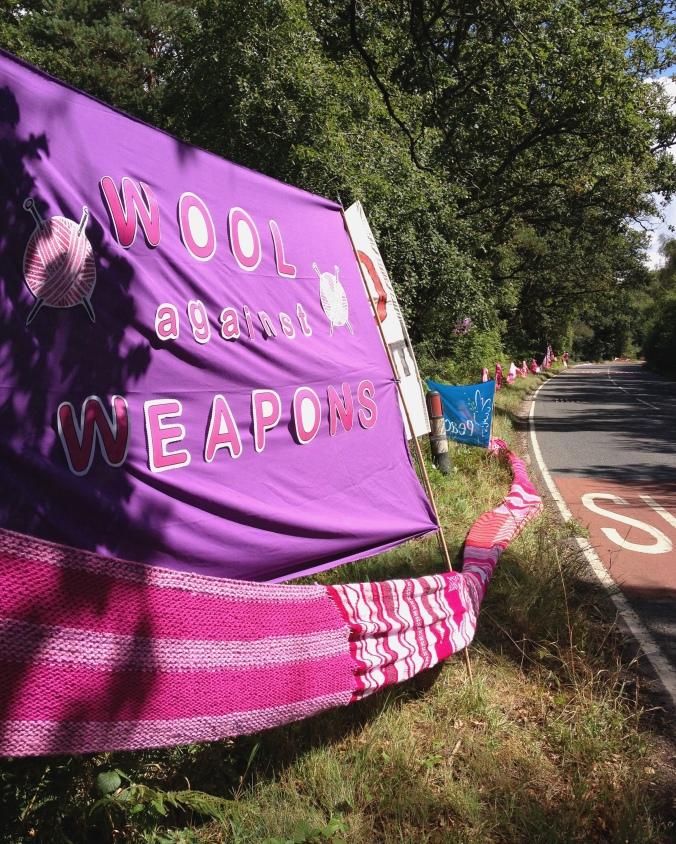 Wool Against Weapons Day, Aldermaston